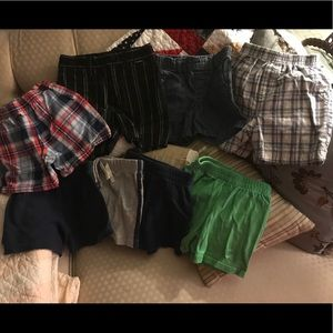 Other - Lot of 8 pairs of shorts - 18 month Hurley plaid